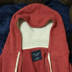 EUC Heavy Hoodie Full Zip Closure American Eagle
